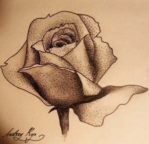 Dessin personnel (rose)