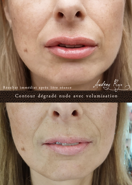 Levres Maquillage Permanent D Eyeliner Tatouage Esthetique