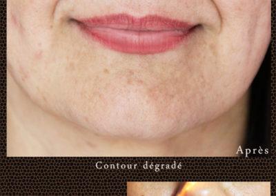Levres Maquillage Permanent Audrey Rojo