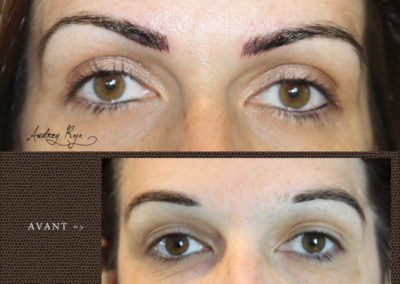 Sourcils en maquillage permanent