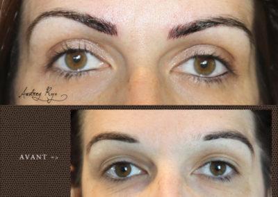 Sourcils en maquillage permanent