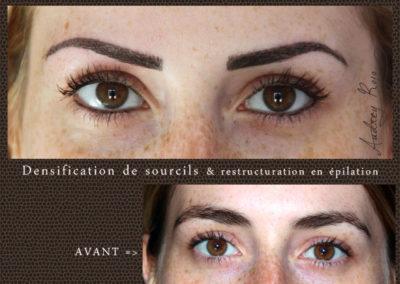 Densification de sourcils