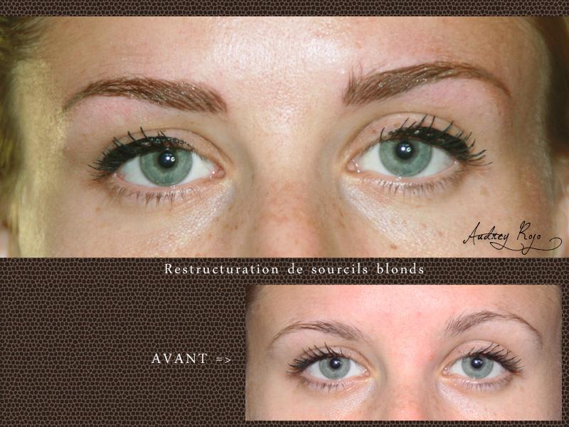 Sourcils Maquillage Permanent Audrey Rojo