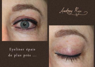 Eyeliner épais